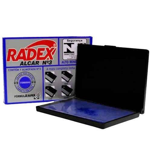 Almofada para Carimbo Azul N.4 Radex