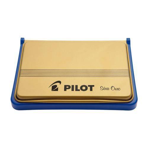 Almofada para Carimbo N3 Azul Pilot