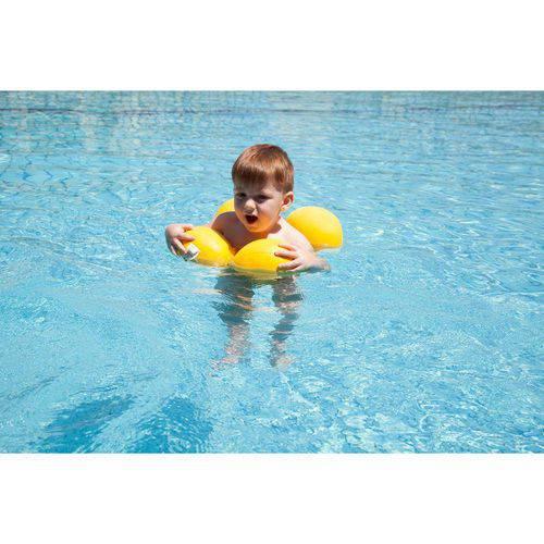 Almofada para Piscina Octopus - Amarela - Baby Pil
