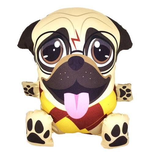 Almofada Personalizada Pug Potter 36x26 Almofadageek