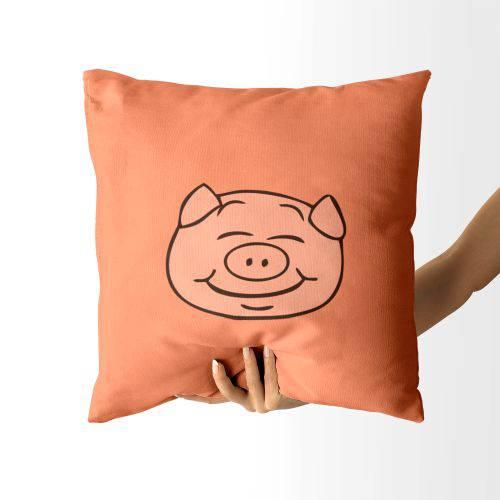 Almofada Pig Rosto