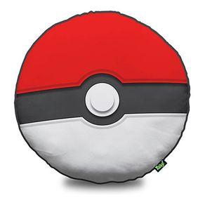 Almofada Pokebola Pokemon Quadrada Geek Almofada Pokebola Pokémon Redonda Geek