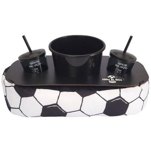 Almofada Porta Pipoca Bola de Futebol Copa – Uatt