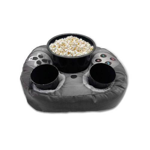 Almofada Porta Pipoca Controle de Videogame Kathavento