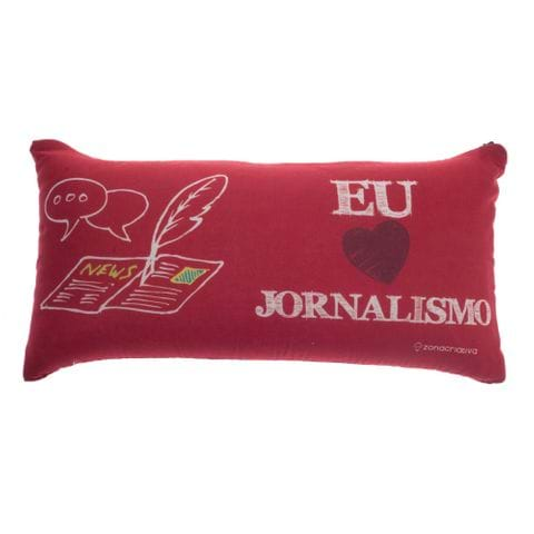 Almofada Profissao Jornalismo