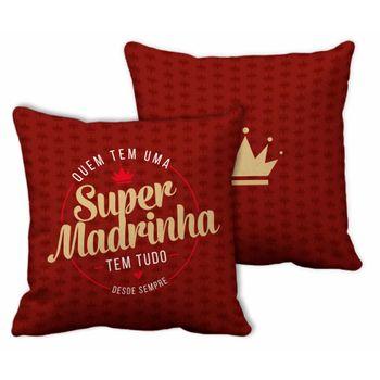 Almofada Quadrada -família - Super Madrinha
