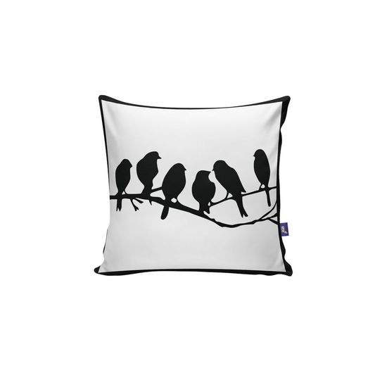 Almofada Quadrada Pássaros Varal