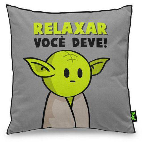 Almofada Relaxar Você Deve Mestre Minioda