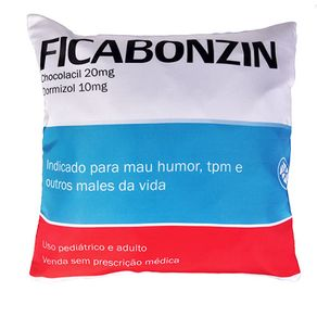 Almofada Remedio Ficabonzin