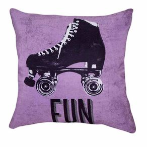 Almofada Retro Fun Patins Vintage