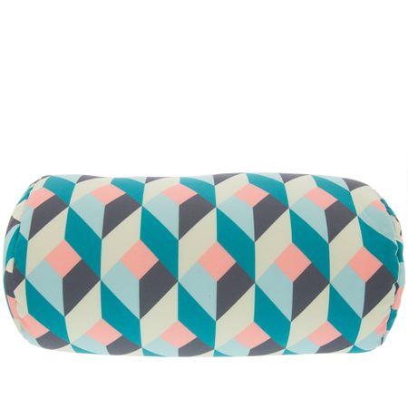 Almofada Rolinho Stz Estampa Geométrica Degradê Color -