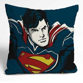 Almofada Super Homem Azul DC Comics