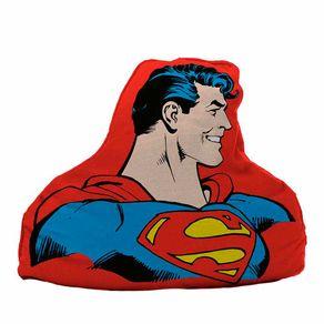 Almofada Super Homem Formato Faces Super Homem