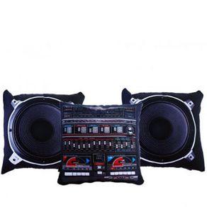 Almofadas Sound System - 3 Peças