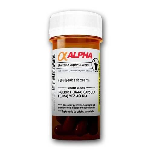 Alpha Axcell - Power Supplements - 30 Cápsulas