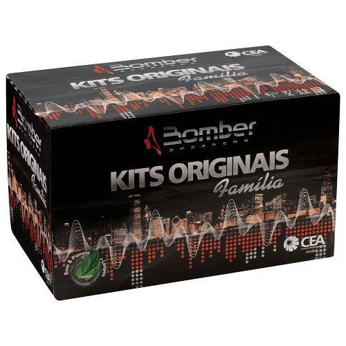 Alto Falante Bomber Kit Fam. Palio Kit 4pcs 50w 4r