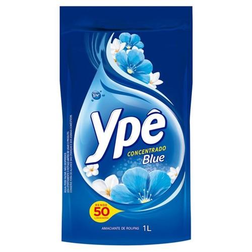 Amaciante Roupa Concentrado Ype 1l Ref Blue