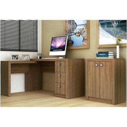 Ambiente para Home Office 02 Peças Amêndoa - Tecno Mobili