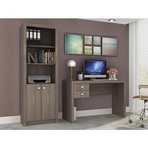 Ambiente para Home Office 02 Peças Carvalho - Tecno Mobili