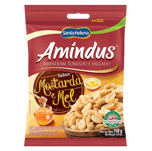 Amendoim Amindus 150g Most e Mel
