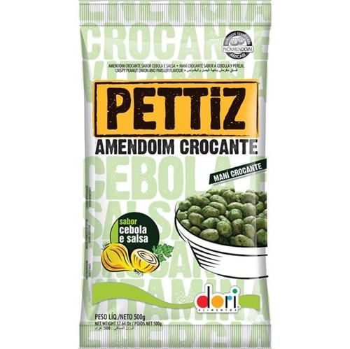 Amendoim Pettiz 500g Cebola & Salsa