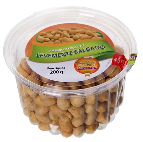 Amendoim Salgado Crokissimo 200g Levemente