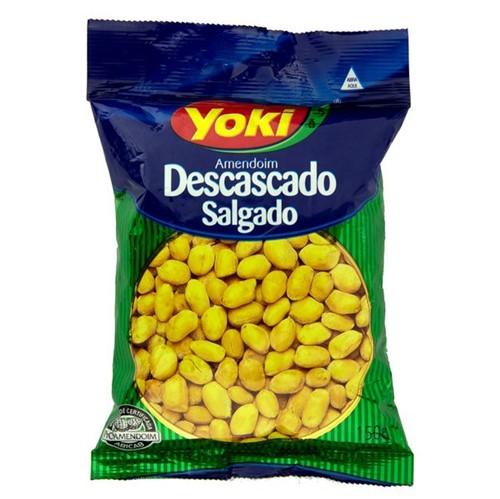 Amendoim Salgado Yoki 150g Descascado