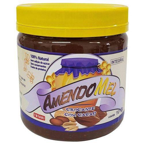 Amendomel Cacau Crocante 1kg - Pasta de Amendoim