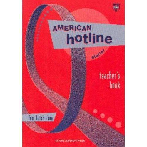 American Hotline Starter - Teacher'S Book