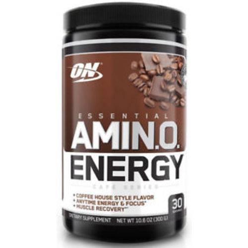 Amino Energy On Optimum Nutrition 30 Doses - Capuccino Café