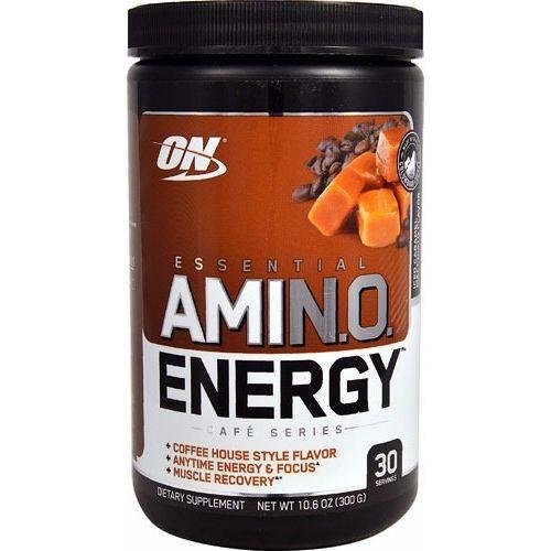 Amino Energy On Optimum Nutrition 30 Doses - Sabor Caramel Macchiato Gelado
