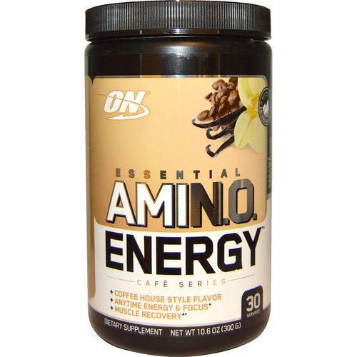 Amino Energy On Optimum Nutrition 30 Doses - Sabor ICED CAFé VANILLA FLAVOR