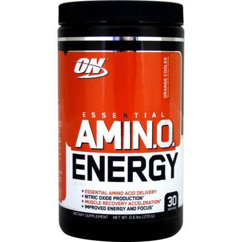 Amino Energy On Optimum Nutrition 30 Doses - Sabor Laranja