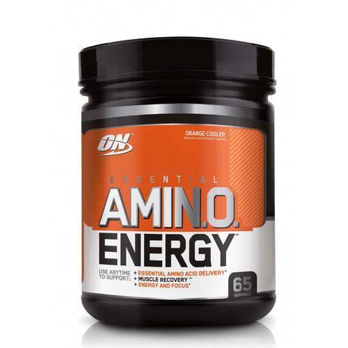 Amino Energy On Optimum Nutrition 65 Doses 585g - Sabor Laranja