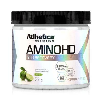 Amino HD 8:1:1 200g - Atlhetica Nutrition Amino HD 8:1:1 200g Limão - Atlhetica Nutrition