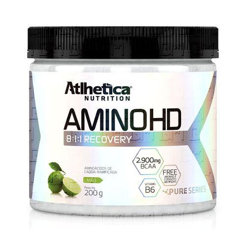 Amino HD 8:1:1 200g - Atlhetica Nutrition Amino HD 8:1:1 200g Sem Sabor - Atlhetica Nutrition