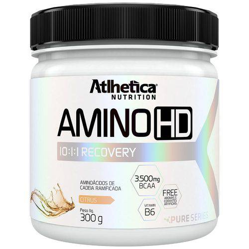 Amino Hd 10:1:1 - Pure Series - 300g - Atlhetica - Citrus