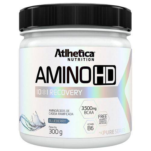 Amino HD 10:1:1 Recovery 300g Blueberry- Atlhetica Nutrition