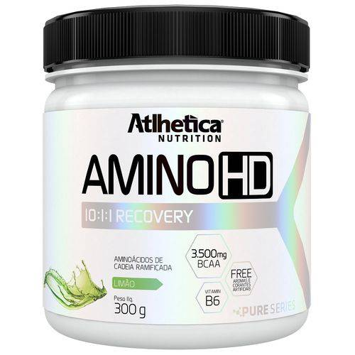 Amino HD 10:1:1 Recovery 300g Limão - Atlhetica Nutrition