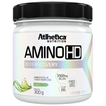 Amino HD 10:1:1 Recovery Limão 300g - Atlhetica Nutrition