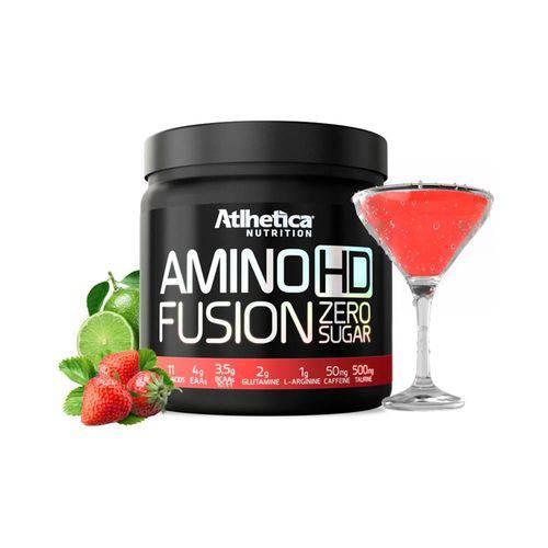 Amino Hd Fusion Atlhetica 450g - Morango com Limão