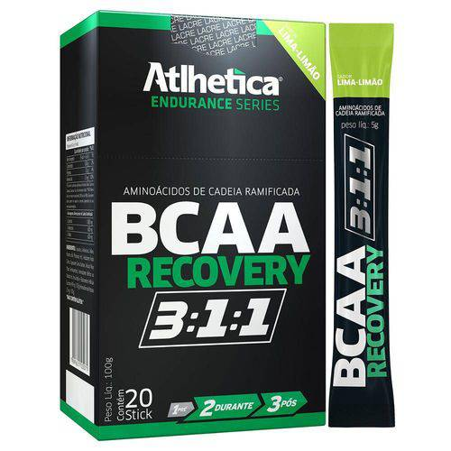 Aminoácido BCAA RECOVERY 3.1.1 - Atlhetica - 20 Sticks
