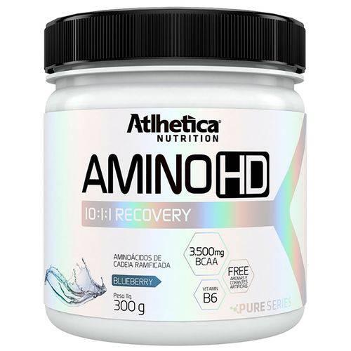 Aminoácido em Pó AMINO HD 10:1:1 - Atlhetica - 300grs - Blueberry