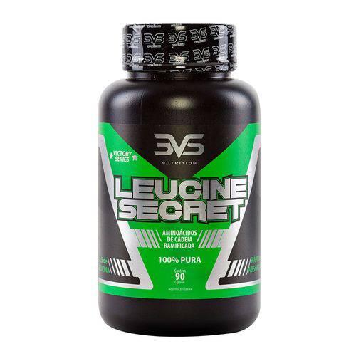 Aminoácido LEUCINE SECRET- 3VS Nutrition - 90 Cápsulas
