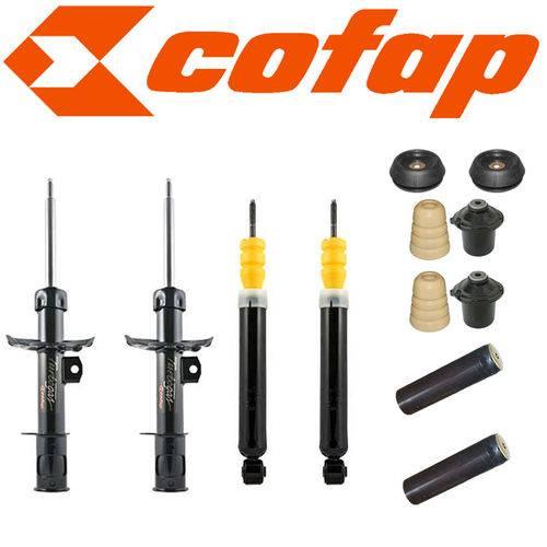 Amortecedor Corsa - Kit 4 Amortecedores Novo Corsa Corsa Joy + Coxins Axios + Kits (batentes e Coifa