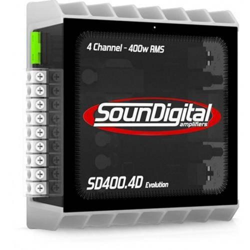 Amplificador 4 Canais - Soundigital Sd400.4evo (400w Rms)