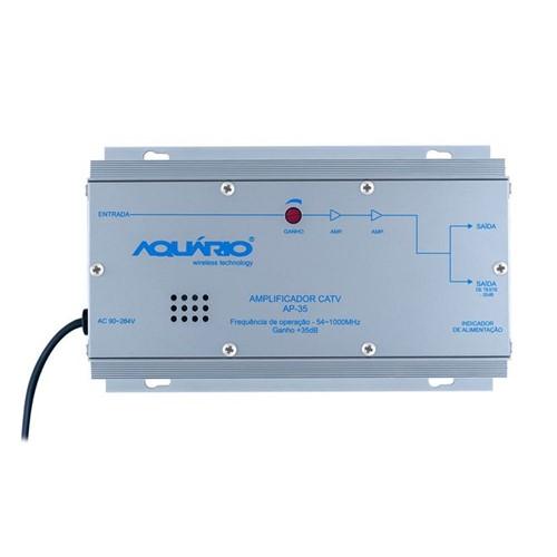 Amplificador de Potência CATV 35dB AP35 Aquario