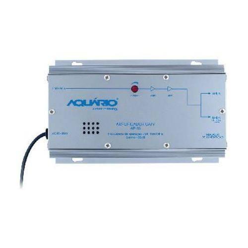 Amplificador de Potência Catv Freqência 54-1000mhz 35db Ap-35