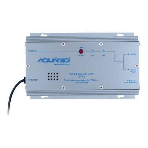 Amplificador de Potência Catv Frequência 54-806mhz 50db Ap-50