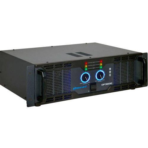 Amplificador de Potência Profissional 700 Watts RMS ONEAL OP 3600